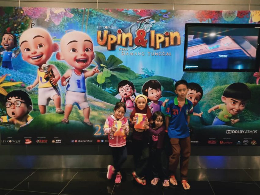 review upin ipin keris Siamang tunggal